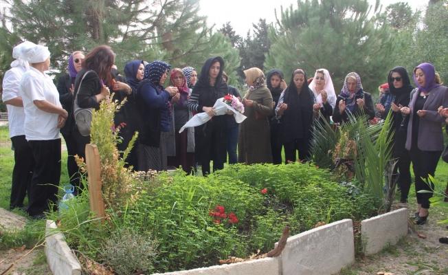 Alanya'da Gülseren Yılmaz mezarı başında anıldı
