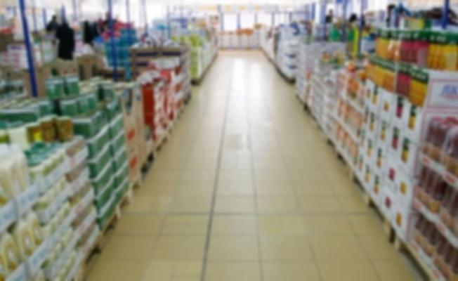 Alanya'da zincir marketten salam ve kıyma çalan hırsız yakalandı