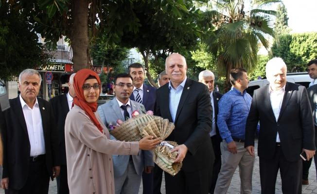 Bayraktar'dan Alanya'da 'ıspanak' açıklaması