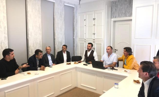 Bölge halkının sorunları Ak Parti'de konuşuldu