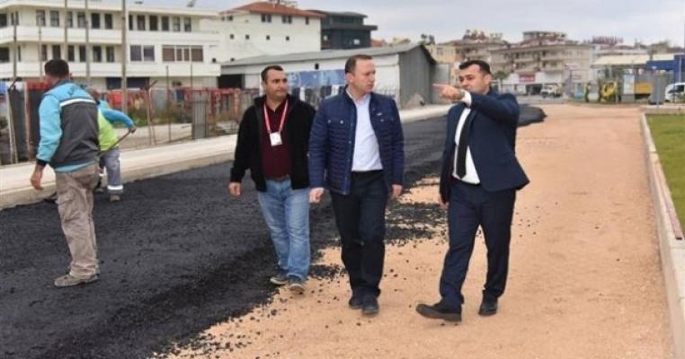 Başkan Yücel: Hedefimiz 100 km asfalt