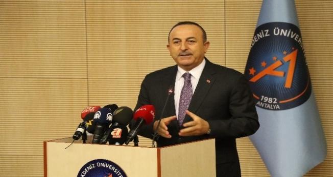 """Çavuşoğlu: """"Burada bir terör devleti kurmak istiyorlardı"""""""