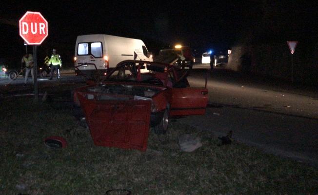 Feci kazada kazada 7 ve 11 yaşındaki kız kardeşler hayatını kaybetti