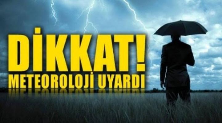 Meteorolojiden Alanya için fırtına uyarısı!