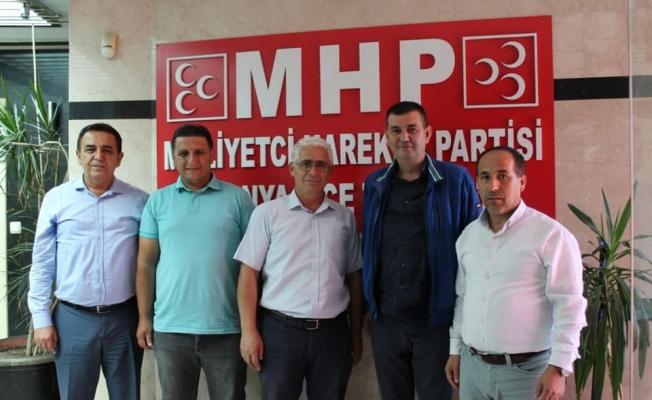 Muhtarlar Türkdoğan'ı yalnız bırakmıyor