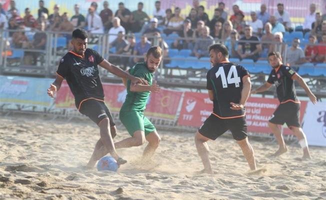 TFF Plaj Futbolu'nda şampiyon Alanya Belediyespor