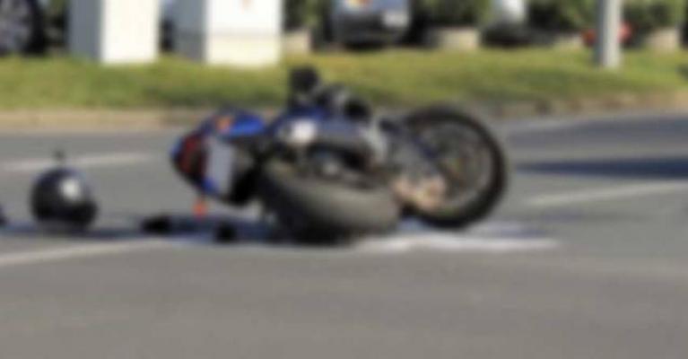 Alanya'da köpeğe çarpan motosiklet sürücüsü yaralandı