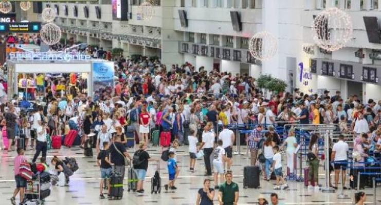 Antalya yaz turizminde dünya birincisi oldu