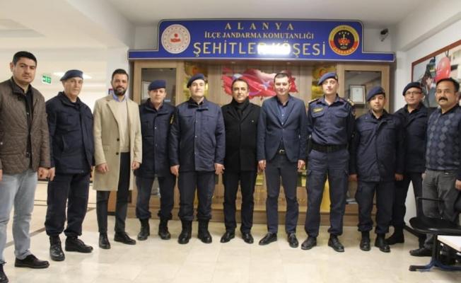 MHP Jandarmayı ziyaret etti