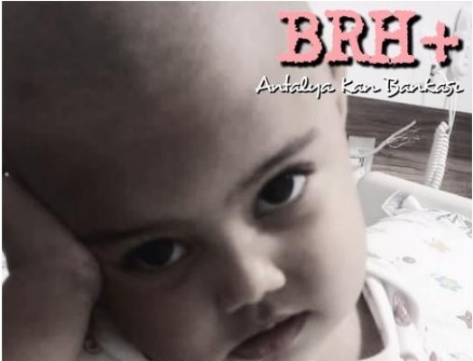 Alanya'da 1.5 yaşındaki Mina kansere yenik düştü