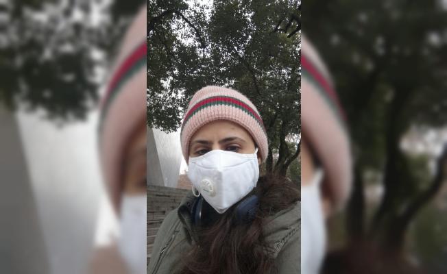 Alanyalı öğrenci Çin'de mahsur kaldı
