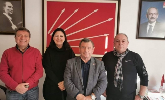 Alanyalı siyasetçi Malatya'da depreme yakalandı