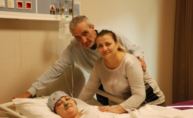 Annesi kanseri yendi, sıra Melis'te