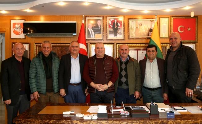 Batı bölgesi muhtarları Başkan Şahin'e noter talebini yeniledi
