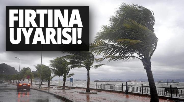 Meteoroloji'den Alanya'da kuvvetli fırtına uyarısı!