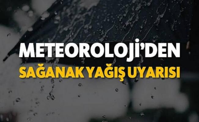 Meteoroloji'den Alanya'ya sağanak yağış uyarısı!