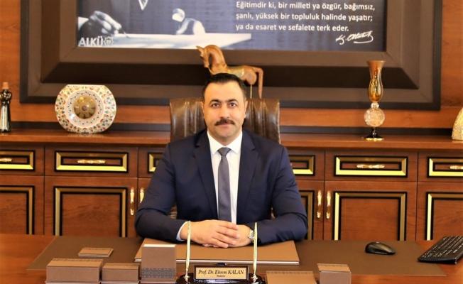 Rektör Kalan'ın hazırladığı dosyaya UNESCO'dan onay geldi