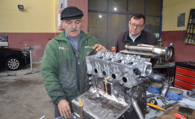 1978 yılında LPG'yi ilk kez otomobilde denemişti şimdide motor tasarladı
