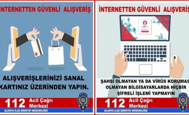 Alanya Emniyeti vatandaşları uyardı!