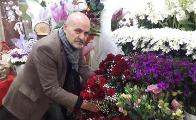 Çiçekçilerde 14 Şubat yoğunluğu yaşandı