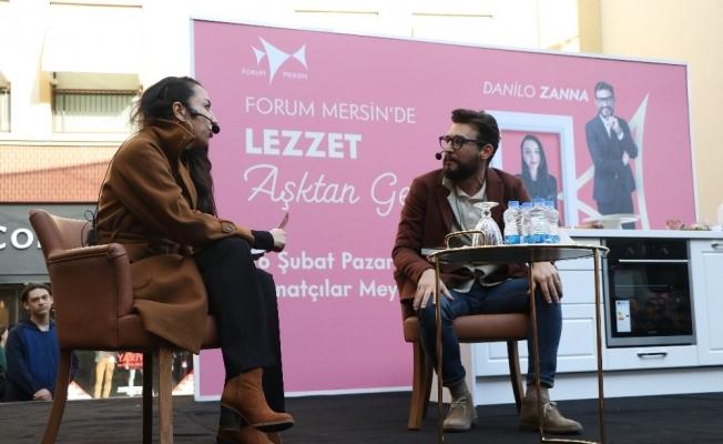 Danilo Zanna, Mersinlilerle buluştu
