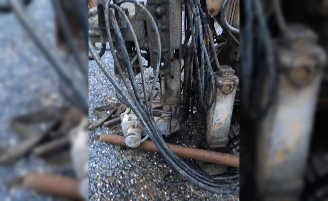 Gazipaşa'da sondaj makinesine sıkışan işçi hayatını kaybetti