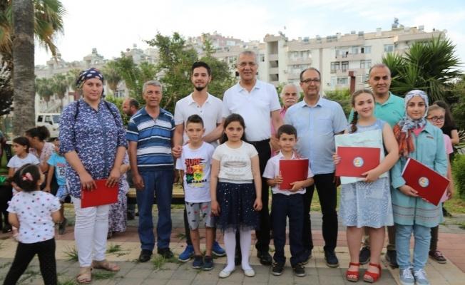 Mezitli'de atık toplama yarışması başladı