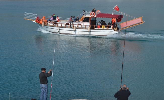 Alanya'da balık tutma yasağı!