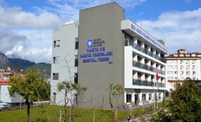 Alanya'da hasta yakınları tesisi, izole merkezi olacak