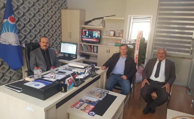 Başkan Yiğit'ten, Uzunsakal'a 'hayırlı olsun' ziyareti
