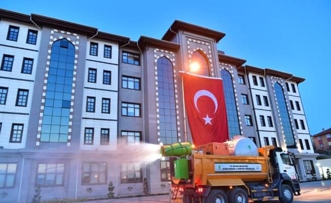 Virüs avcısı Covid-19 SAVAR Ankara sokaklarında