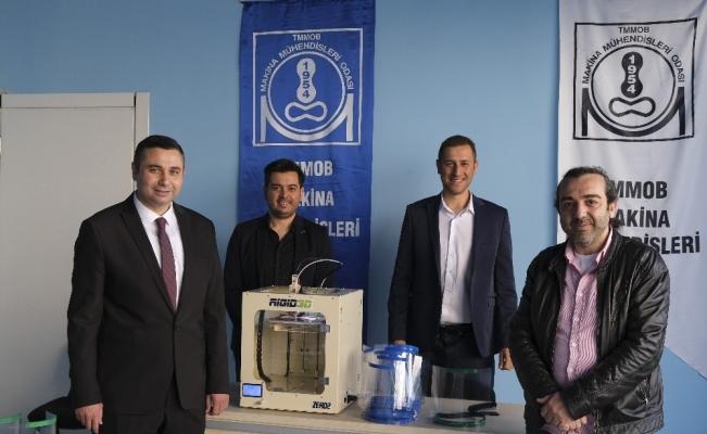 MMO Antalya Şube'den sağlık çalışanlarına 3 boyutlu destek