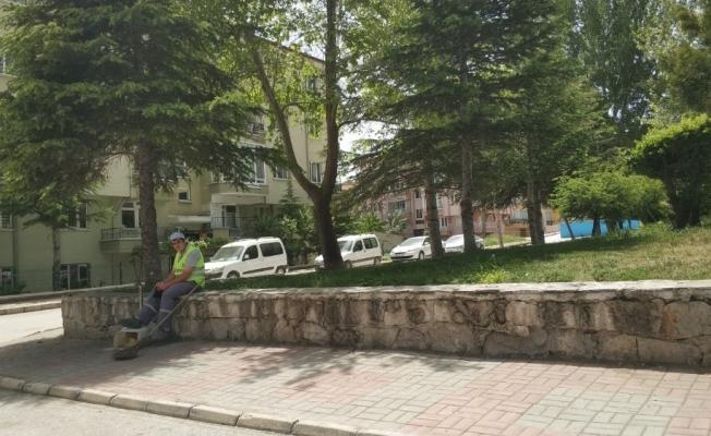 Afyonkarahisar'da yoğun sıcaktan sokaklar boş kaldı