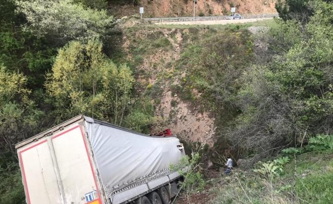 Ankara'da tır kazası