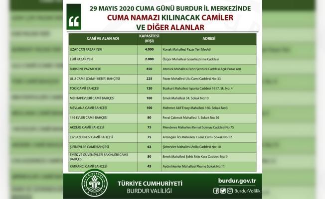 Burdur'da Cuma namazı için katı kurallar belirlendi