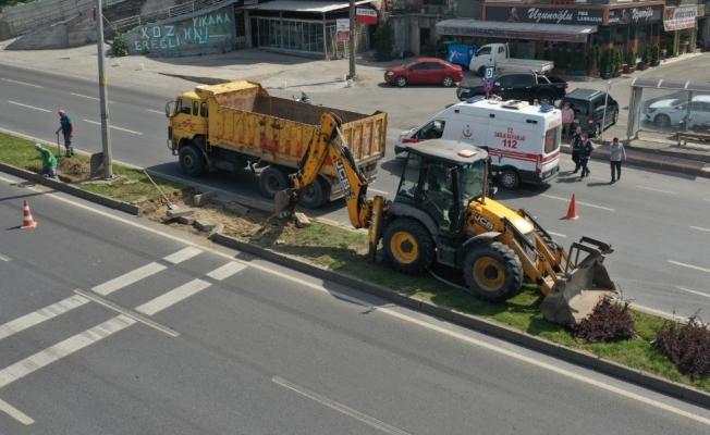 Kdz. Ereğli Belediyesi saha çalışmalarını sürdürüyor