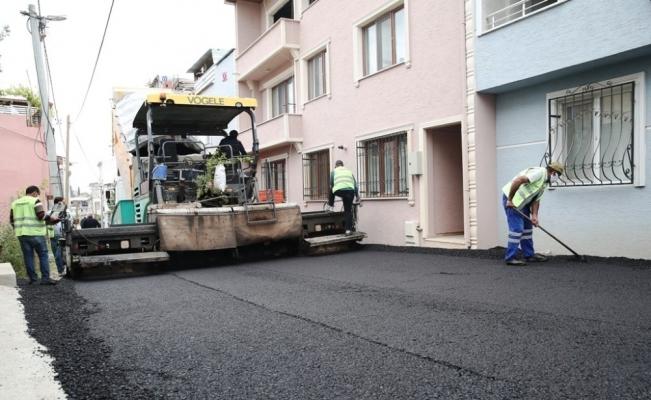 Nilüfer'den asfalt atağı