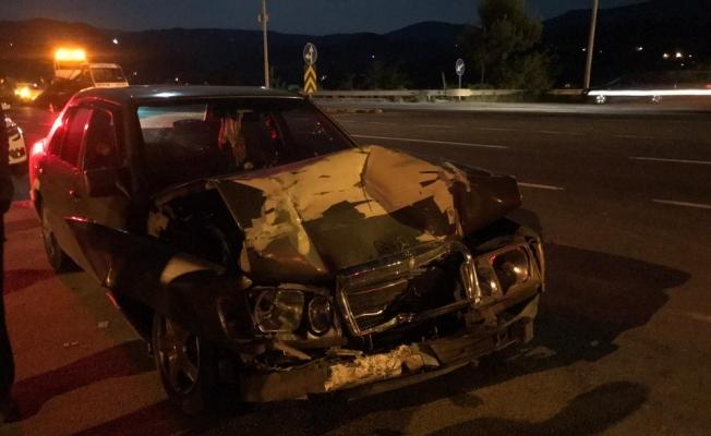 4 aracın karıştığı zincirleme kazada 4 kişi yaralandı