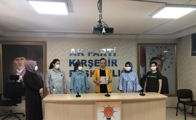 """AK Parti Kadın Kolları Başkanı Düğer, """"Sokak hayvanlarına karşı duyarlı olmalıyız"""""""
