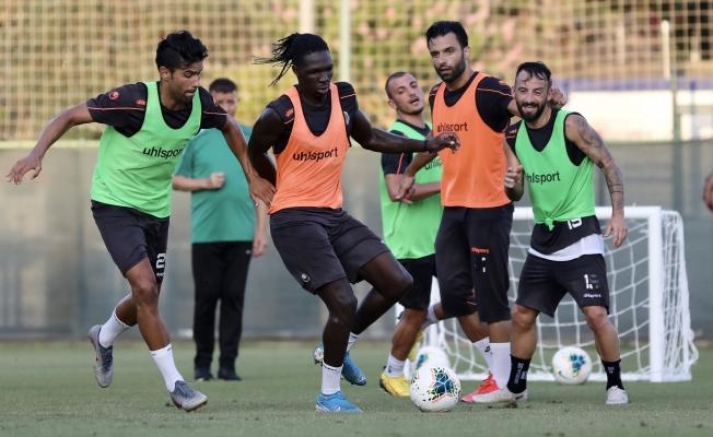 Alanyaspor Ankaragücü maçı hazırlıklarına başladı