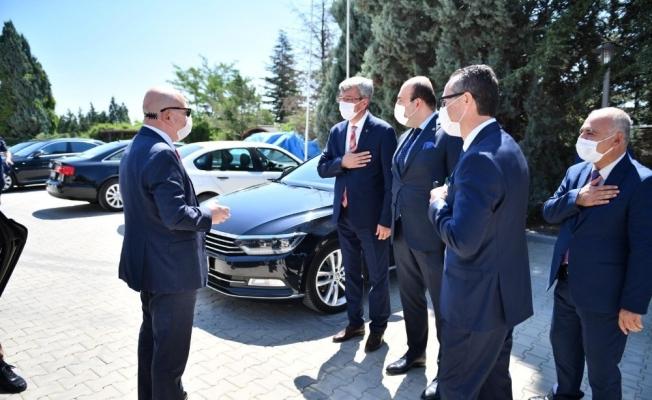 Ankara Üniversitesi Beypazarı MYO yeni hizmet binası törenle açıldı