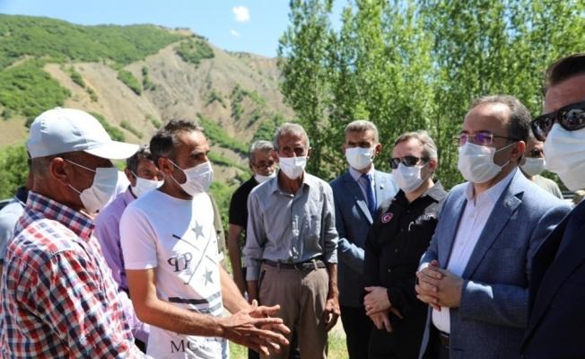 Bakan Yardımcısı Çataklı, deprem bölgesinde incelemelerde bulundu