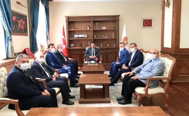 Başkan Şahiner Vali Masatlı'yı ziyaret etti
