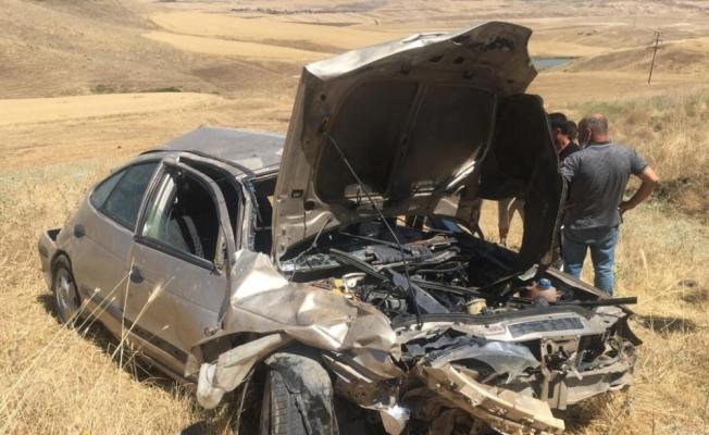Batman'da otomobil uçuruma yuvarlandı: 1 yaralı
