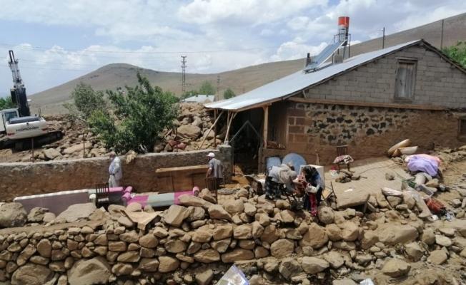 Bingöl'de selden sonra hasar tespit çalışmaları başladı