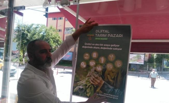 Dijital Tarım Pazarı'nın tanıtımı yapıldı
