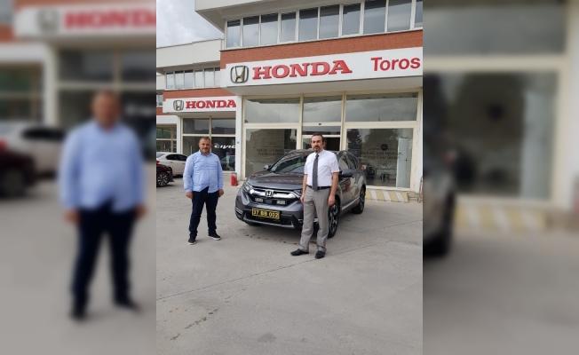 Honda'nın çevreci modeli Çatalzeytin Belediyesi'nin itfaiye öncü araç filosuna eklendi