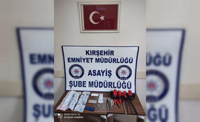 Kırşehir'de hırsızlık, 3 şüpheli yakalandı