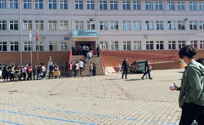 Kırşehir'de, Liselere Geçiş Sistemi (LGS) sınavları tamamlandı
