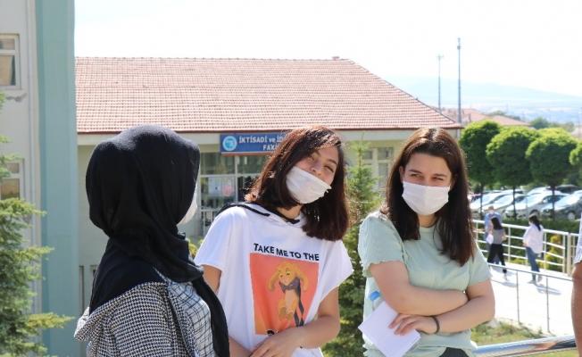 Kırşehir'de YKS heyecanı